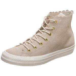 Chuck Taylor All Star Frilly Thrills High Sneaker Damen, beige, zoom bei OUTFITTER Online