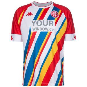 1. FSV Mainz 05 Fastnachtstrikot 2020/2021 Herren, rot / weiß, zoom bei OUTFITTER Online