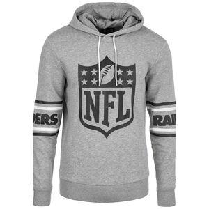 NFL Badge Oakland Raiders Kapuzenpullover Herren, grau / schwarz, zoom bei OUTFITTER Online