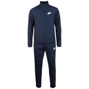 Basic Trainingsanzug Herren, dunkelblau / weiß, zoom bei OUTFITTER Online