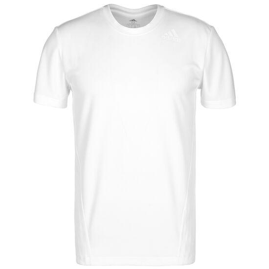 Aerodry 3-Stripes Trainingsshirt Herren, weiß, zoom bei OUTFITTER Online
