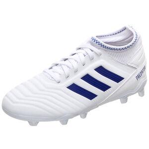 Predator 19.3 FG Fußballschuh Kinder, weiß / blau, zoom bei OUTFITTER Online