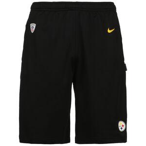 NFL Coach Pittsburgh Steelers Shorts Herren, schwarz / gelb, zoom bei OUTFITTER Online