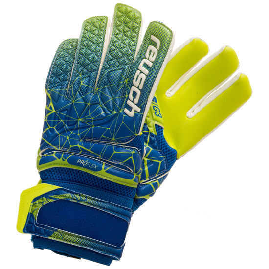 Fit Control Pro G3 Negative Cut Torwarthandschuh, blau / neongelb, zoom bei OUTFITTER Online