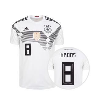 DFB Trikot Home Kroos WM 2018 Kinder, Weiß, zoom bei OUTFITTER Online