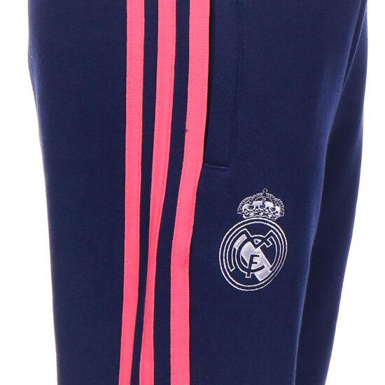 Real Madrid Trainingshose Kinder, dunkelblau / weiß, zoom bei OUTFITTER Online