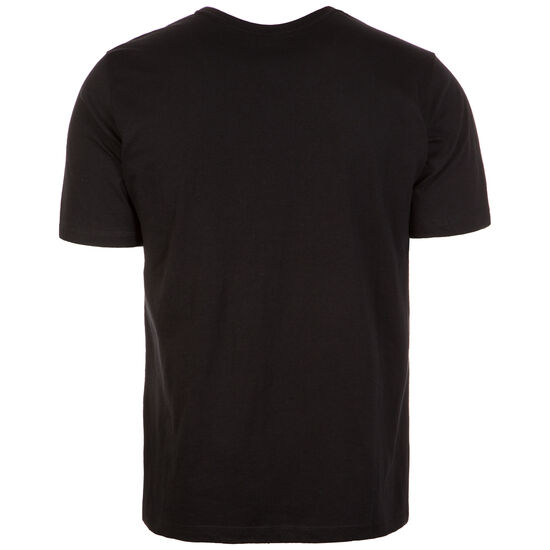 Elbow T-Shirt Herren, schwarz / rot, zoom bei OUTFITTER Online
