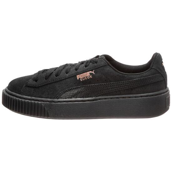 Suede Platform Artica Sneaker Damen, schwarz, zoom bei OUTFITTER Online