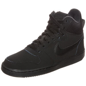 Court Borough Mid Sneaker Damen, Schwarz, zoom bei OUTFITTER Online