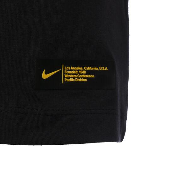 Los Angeles Lakers James Trainingsshirt Herren, schwarz, zoom bei OUTFITTER Online