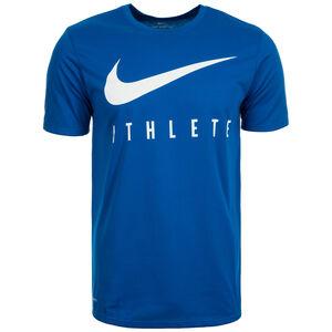 DB Swoosh Athlete Trainingsshirt Herren, blau / weiß, zoom bei OUTFITTER Online
