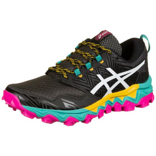 Gel-FujiTrabuco 8 Laufschuh Herren, schwarz / pink, zoom bei OUTFITTER Online