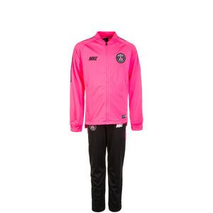 Paris Saint-Germain Dry Squad Trainingsanzug Kinder, pink / schwarz, zoom bei OUTFITTER Online