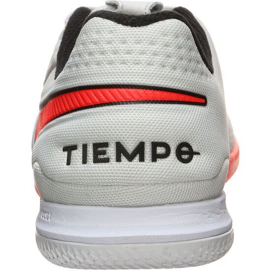 React Tiempo Legend 8 Pro Indoor Fußballschuh Herren, weiß / neonrot, zoom bei OUTFITTER Online