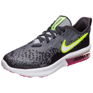 Air Max Sequent 4 Sneaker Kinder, grau / neongelb, zoom bei OUTFITTER Online