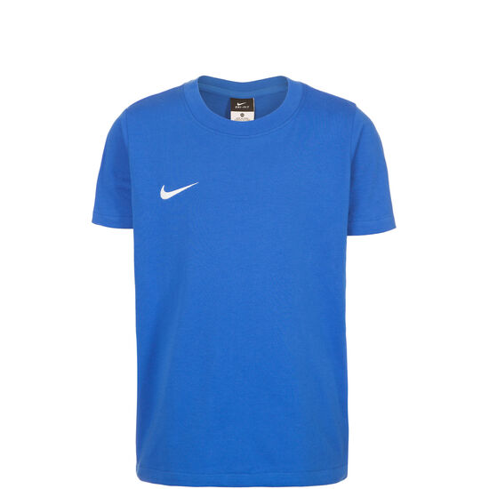 Team Club Blend Trainingsshirt Kinder, Blau, zoom bei OUTFITTER Online