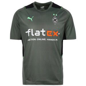 Borussia Mönchengladbach Trainingsshirt Herren, graugrün / schwarz, zoom bei OUTFITTER Online