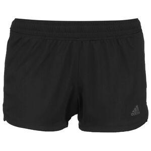 Pacer 3-Stripes Laufshorts Damen, schwarz / weiß, zoom bei OUTFITTER Online