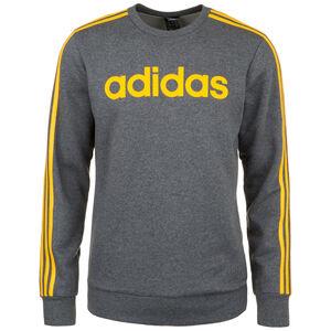 Essentials 3 Stripes Sweatshirt Herren, dunkelgrau / gelb, zoom bei OUTFITTER Online