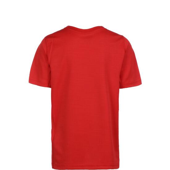 Performance Trainingsshirt Kinder, rot / weiß, zoom bei OUTFITTER Online