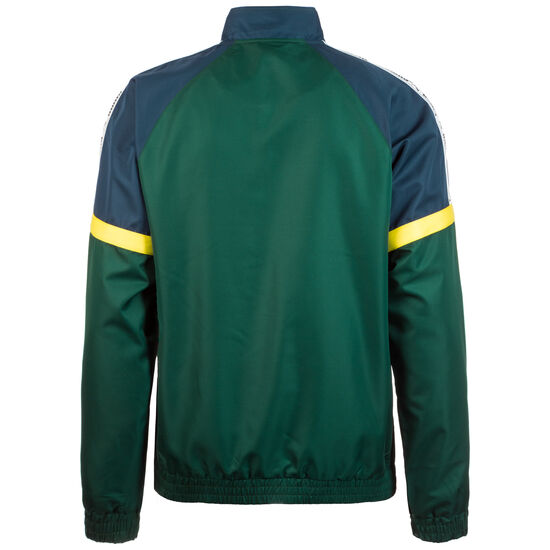 XTG Woven Jacke Herren, dunkelgrün / gelb, zoom bei OUTFITTER Online