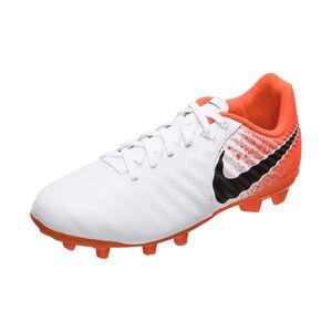 Tiempo Legend VII Academy MG Fußballschuh Kinder, weiß / orange, zoom bei OUTFITTER Online
