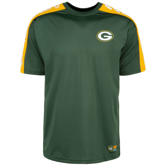 NFL Green Bay Packers Oversized Shoulder Print T-Shirt Herren, dunkelgrün, zoom bei OUTFITTER Online
