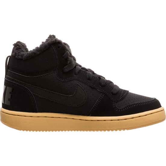 Court Borough Mid Winter Sneaker Kinder, schwarz / braun, zoom bei OUTFITTER Online