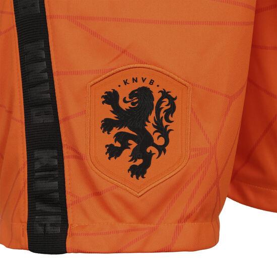 Niederlande Shorts Home Stadium EM 2021 Herren, orange / schwarz, zoom bei OUTFITTER Online