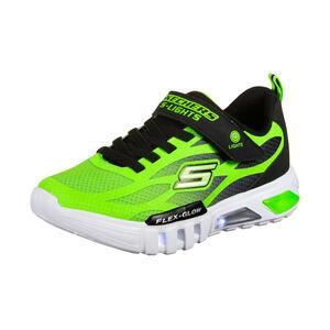 Flex-Glow Dezlom Sneaker Kinder, neongrün / schwarz, zoom bei OUTFITTER Online
