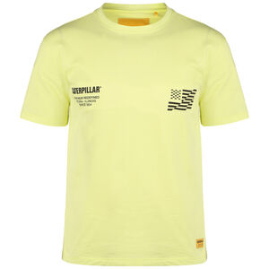 Caterpillar B-W Flag T-Shirt Herren, gelb / schwarz, zoom bei OUTFITTER Online