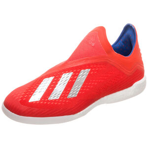X 18+ Indoor Fußballschuh Herren, rot / blau, zoom bei OUTFITTER Online