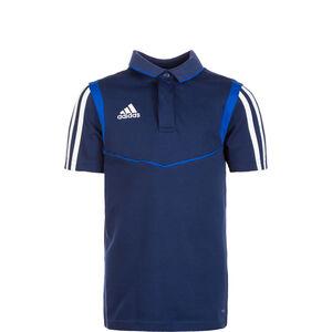 Tiro 19 Poloshirt Kinder, dunkelblau / blau, zoom bei OUTFITTER Online