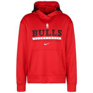 NBA Chicago Bulls Spotlight Kapuzenpullover Herren, rot / schwarz, zoom bei OUTFITTER Online