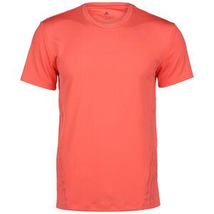 AEROREADY 3-Streifen Trainingsshirt Herren, korall, zoom bei OUTFITTER Online