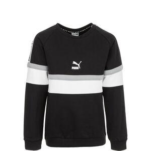 XTG Crew Sweatshirt Kinder, schwarz / weiß, zoom bei OUTFITTER Online