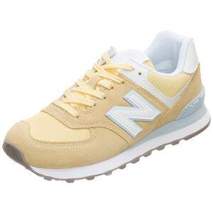 WL574-B Sneaker Damen, gelb / weiß, zoom bei OUTFITTER Online