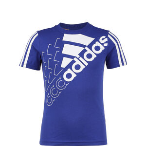 Logo T1 T-Shirt Kinder, blau / weiß, zoom bei OUTFITTER Online
