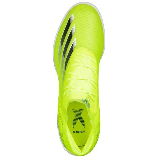 X Ghosted.1 TF Fußballschuh Herren, neongelb / blau, zoom bei OUTFITTER Online
