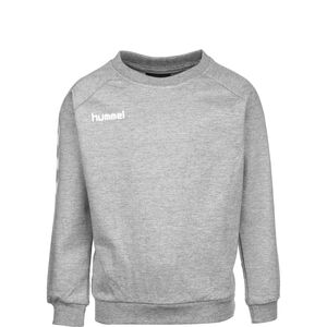 Hmlgo Cotton Sweatshirt Kinder, grau / weiß, zoom bei OUTFITTER Online