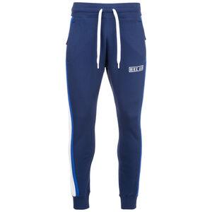 Air Fleece Jogginghose Herren, dunkelblau / weiß, zoom bei OUTFITTER Online