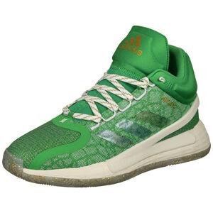 D Rose 11 Basketballschuhe Herren, grün / beige, zoom bei OUTFITTER Online