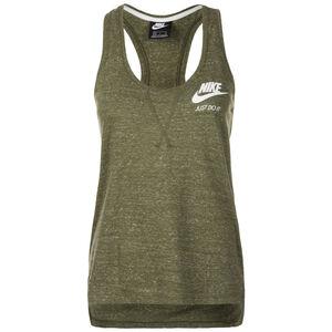 Gym Vintage Tanktop Damen, oliv / weiß, zoom bei OUTFITTER Online