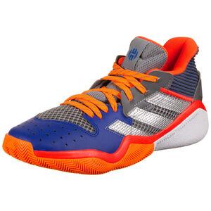 Harden Stepback Basketballschuh Herren, grau / blau, zoom bei OUTFITTER Online