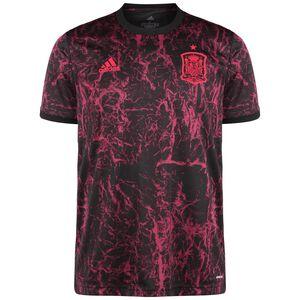 Spanien Pre-Match T-Shirt EM 2021 Herren, dunkelrot / schwarz, zoom bei OUTFITTER Online