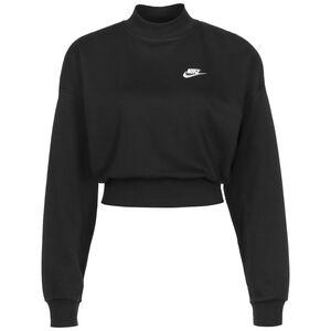 Essential Fleece Sweatshirt Damen, schwarz, zoom bei OUTFITTER Online