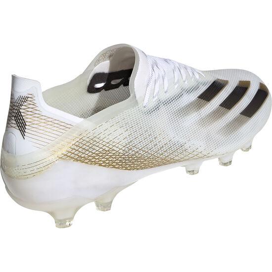 X Ghosted.1 AG Fußballschuh Herren, weiß / gold, zoom bei OUTFITTER Online