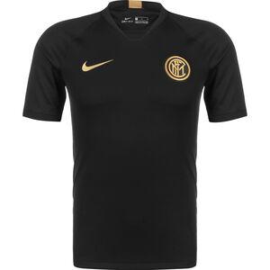 Inter Mailand Breathe Strike Trainingsshirt Herren, schwarz / gold, zoom bei OUTFITTER Online