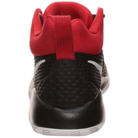 Zoom Rev Basketballschuh Damen, schwarz / rot, zoom bei OUTFITTER Online