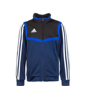 Tiro 19 Polyester Trainingsjacke Kinder, dunkelblau / schwarz, zoom bei OUTFITTER Online